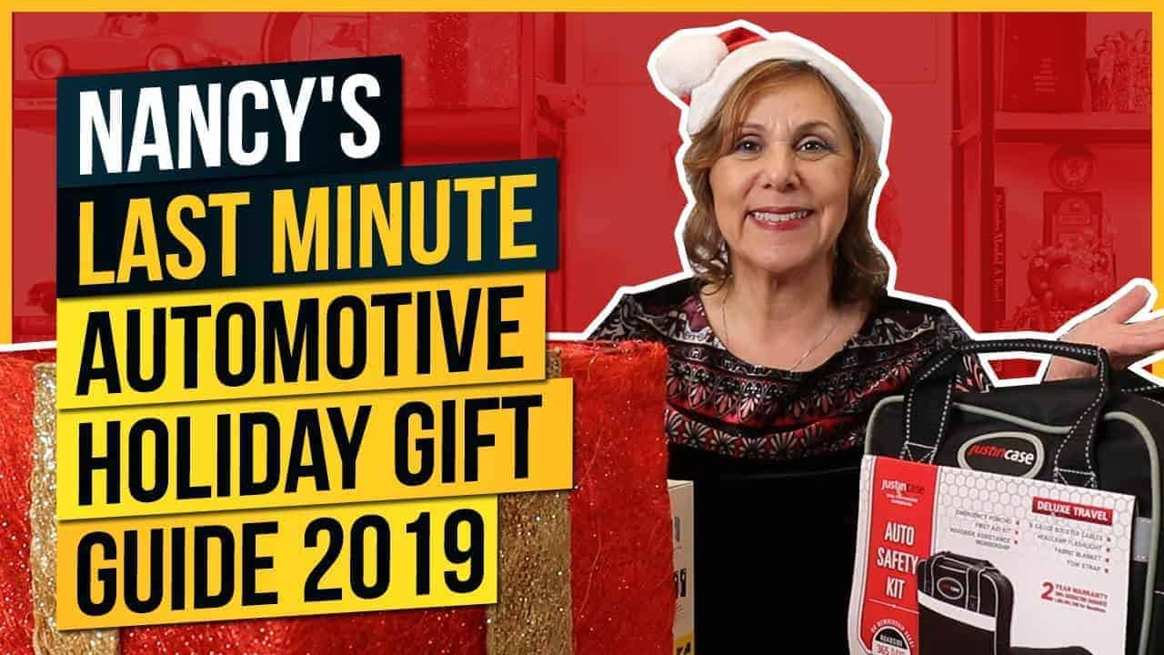 Nancy's Last Minute Automotive Holiday Gift Guide 2019